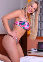 Blonde Brazilian Model Karol A-Level +971525867030 Dubai