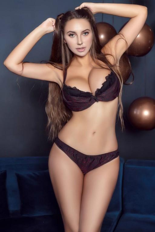 Female nude exhibitionist