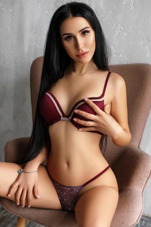 Jessica white bikini